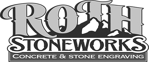 Roth Stone Works Concrete and Stone Engraving